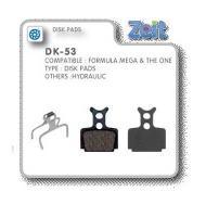 Zeit - Klocki hamulcowe Formula Mega, The One [DK-53]