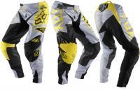 FOX - Spodnie 360 Machina Yellow