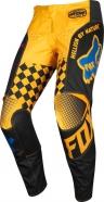 FOX - Spodnie 180 Czar Black Yellow Junior
