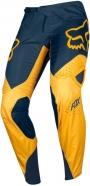 FOX - Spodnie 360 Kila Navy Yellow
