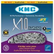 KMC - Łańcuch X10E EPT do napędów rowerów elektrycznych