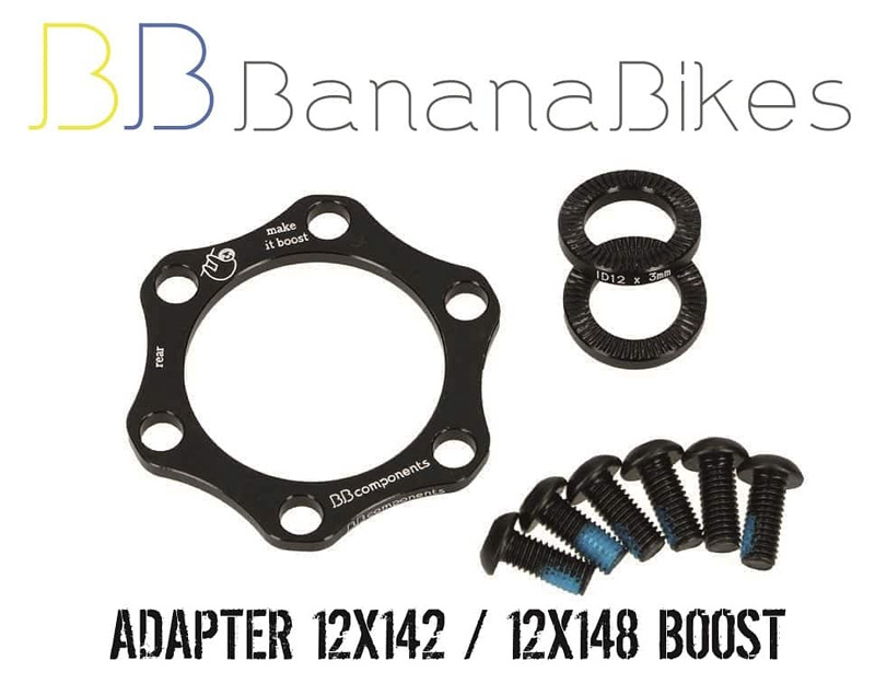 BB Components Adapter 12x142 / 12x148 BOOST tył