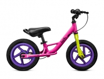 KIDO - Rowerek biegowy Classic Pink Plus