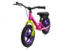KIDO Rowerek biegowy Classic Pink Plus