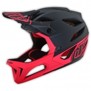 Troy Lee Designs - Kask Stage Stealth Black Pink MIPS®