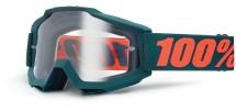 100% - Gogle Accuri OTG (na okulary) szyba przeźroczysta