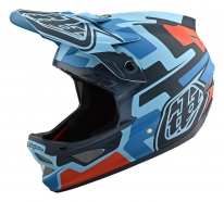 Troy Lee Designs - Kask D3 Speedcode Blue Black