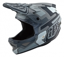 Troy Lee Designs - Kask D3 Speedcode Gray