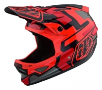 Troy Lee Designs - Kask D3 Speedcode Red