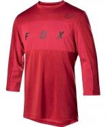 FOX - Jersey Ranger Dri-Release 3/4 Cardinal