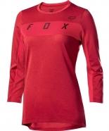 FOX - Jersey Ranger Dri-Release 3/4 Cardinal Lady