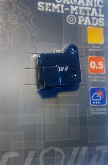 Cloud Perform Klocki hamulcowe BP-15 półmetaliczne do Shimano Deore