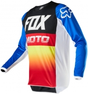 FOX - Jersey 180 Fyce Blue Red