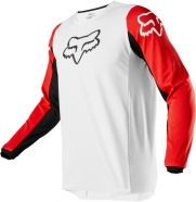 FOX - Jersey 180 Prix White Black Red