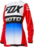 FOX - Jersey 180 Fyce Blue Red Lady