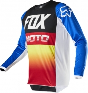 FOX - Jersey 180 Fyce Blue Red Junior