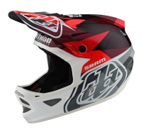 Troy Lee Designs - Kask D3 Carbon Jet SRAM Red CF MIPS