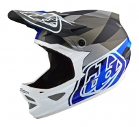 Troy Lee Designs - Kask D3 Carbon Jet SRAM Blue CF MIPS