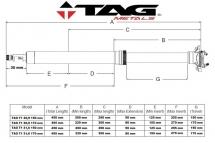 TAG Metals Sztyca T1