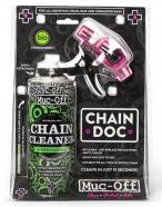 Muc-Off - Maszyna do czyszczenia łańcucha Chain Doc + odtłuszczacz