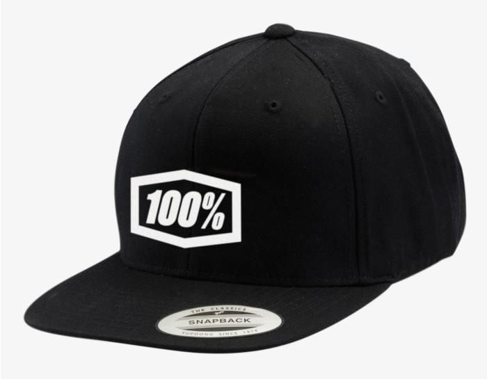 100% Czapka Essential Snapback