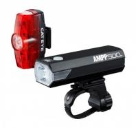 Cateye - Zestaw lampek AMPP 500 HL-EL085RC + TL-LD635 Rapid Min