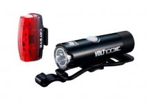 Cateye - Zestaw lampek HL-EL051 VOLT100XC / TL-LD620 Rapid Micro