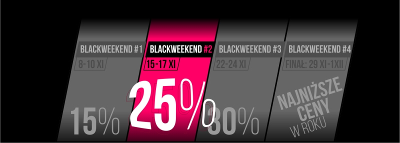 BLACK WEEKEND 2-4 2019