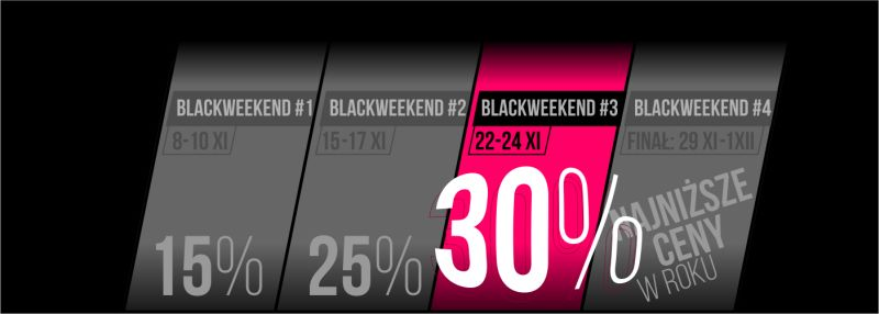 BLACK WEEKEND 3-4 INFO 2019