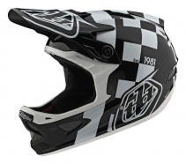 Troy Lee Designs - Kask D3 Raceshop Black Wite
