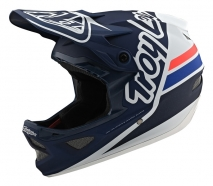 Troy Lee Designs - Kask D3 Silhouette Navy Whyte
