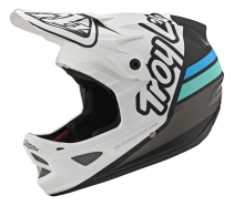 Troy Lee Designs - Kask D3 Silhouette Whyte Navy