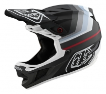 Troy Lee Designs - Kask D4 Mirage Black Silver MIPS®