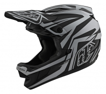 Troy Lee Designs - Kask D4 Slash Black Silver MIPS®