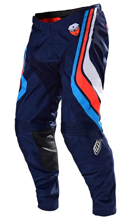 Troy Lee Designs Spodnie SE SECA Dark Navy Orange