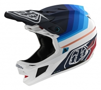 Troy Lee Designs - Kask D4 CF Mirage Navy White