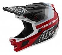 Troy Lee Designs - Kask D4 CF Mirage SRAM
