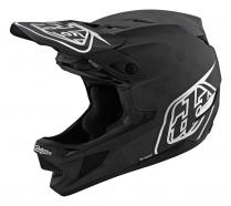 Troy Lee Designs - Kask D4 CF Stealth Black Silver