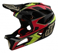 Troy Lee Designs - Kask Stage Stealth Ropo Pink Yellow MIPS®