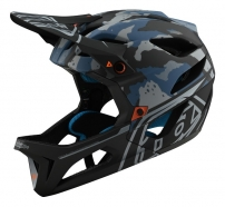 Troy Lee Designs - Kask Stage Camo Light Blue MIPS®
