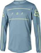 FOX - Jersey Flexair Fine Line Light Blue