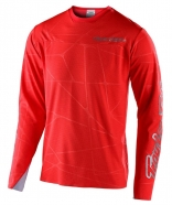 Troy Lee Designs - Jersey Sprint Ultra Red Silver