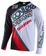 Troy Lee Designs - Jersey Sprint Ultra Tilt SRAM Black / White