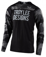 Troy Lee Designs - Jersey Skyline Air Pinstripe Camo Gray Black