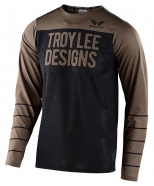 Troy Lee Designs - Jersey Skyline Air Pinstripe Black Walnut