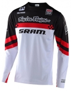Troy Lee Designs - Jersey Sprint Factory SRAM Black White