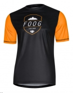 Foog Wear - Jersey Just Ride Orange krótki rękaw