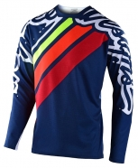 Troy Lee Designs - Jersey Sprint Seca 2.0 Navy Red