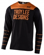 Troy Lee Designs - Jersey Skyline Pinstripe Black Gold