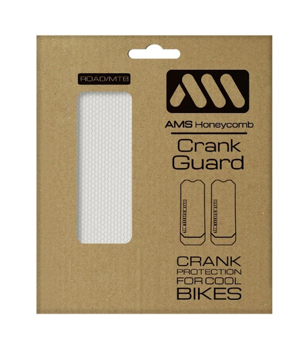 AMS Naklejki ochronne Honeycomb Crank Guard